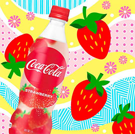 [New Arrival] Coca Cola Strawberry 500ml