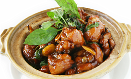 Recipe- Oyster Chicken with Basil [Serves 2]