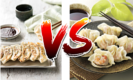 Potstickers VS Gyoza