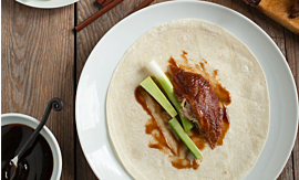 Recipe -Peking Duck Tortilla [Serves 2]