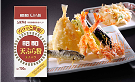 The traditional tempura