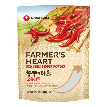 Nongshim Farmer's Heart Red Chilli Pepper Powder 500g