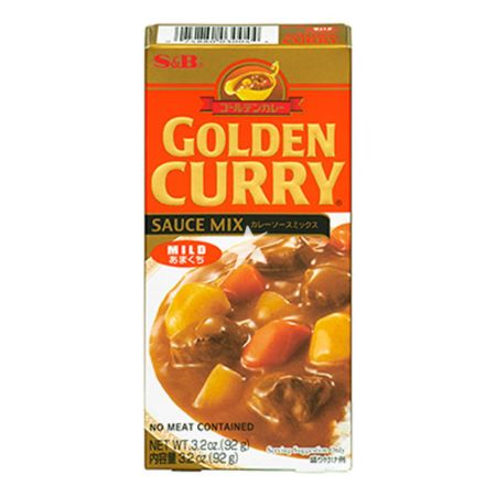 S&B Golden Curry Sauce Mix - Mild 92g