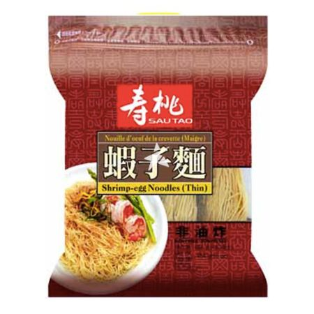 Sau Tao Shrimp Egg Noodles (Thin) 454g