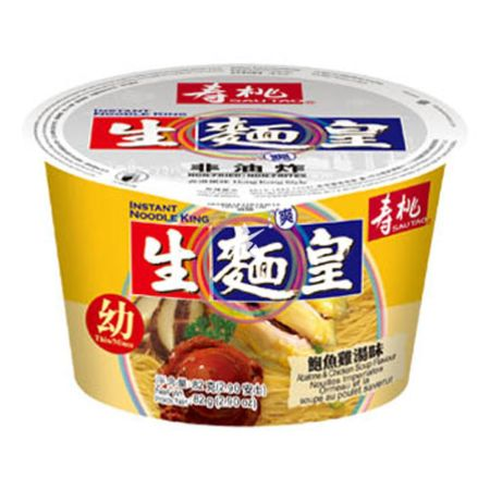 Sau Tao Instant Noodle King - Abalone & Chicken Soup Flavour (Thin/Mince) 82g