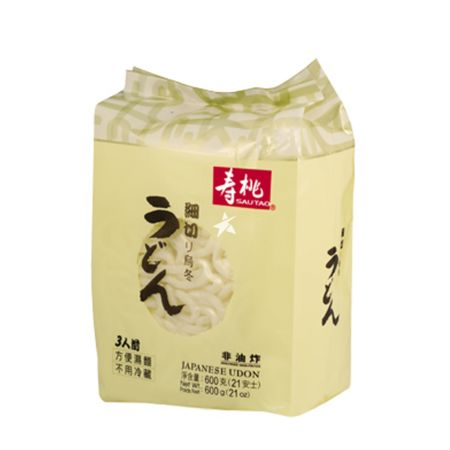 Sau Tao Japanese Udon 3 Servings 600g
