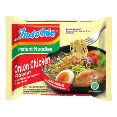 Indomie Soup Noodles - Onion Chicken Flavour 75g