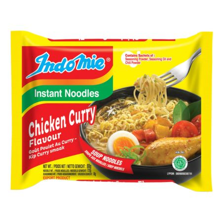 Indomie Soup Noodles - Chicken Curry Flavour 80g
