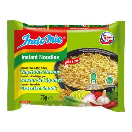 Indomie Instant Noodles Soup Vegetable & Lime Flavour 75g