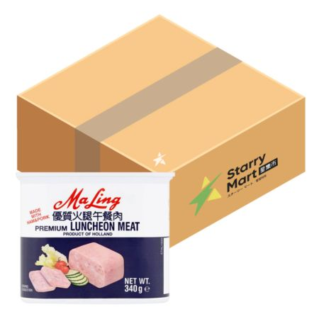 Maling Luncheon Meat 340g (Pack of 12)