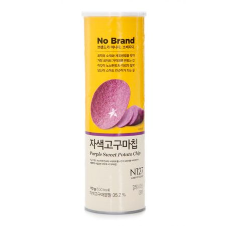 No Brand Purple Sweet Potato Chip 110g