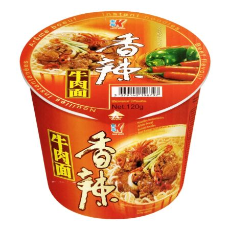 Kailo Instant Noodle Spicy Beef Flavour (Bowl) 120g