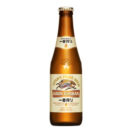 Kirin Ichiban First Press Beer 330ml 5% Alc./Vol