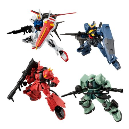 Bandai Shokugan Mobile Suit Gundam G Frame 10 (Set of 10)