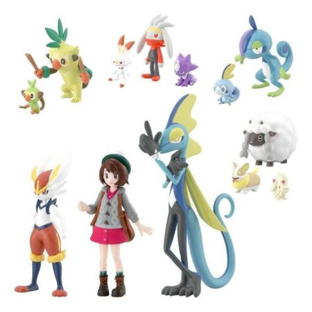 Bandai Shokugan Pokemon Scale World Galar (Set of 12)