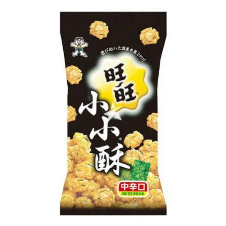 Want Want Mini Rijst Crackers - Seaweed Flavour 60g