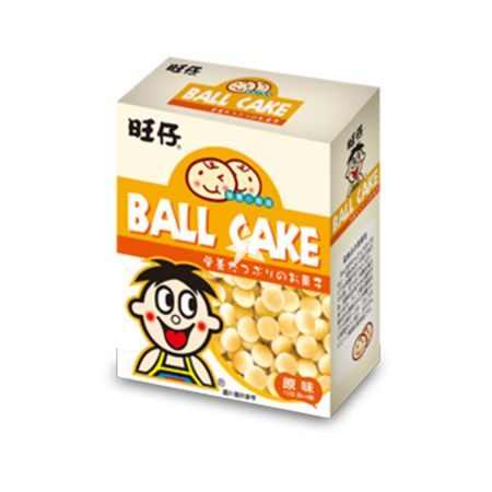 Want Want Ball Cake (Small Man Tou) - Original Flavour 15g x 4 packs 60g