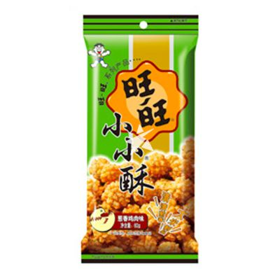 Want Want Mini Rijst Crackers - Spring Onion & Chicken Flavour 60g