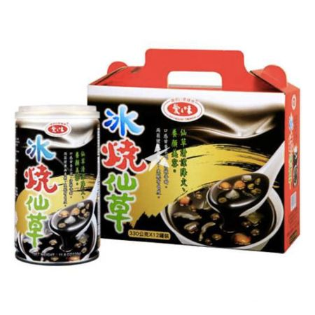 AGV Grass Jelly Dessert 340g (12 Cans)