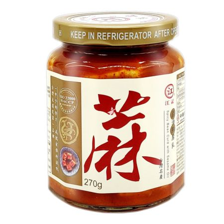 Kongki Spicy Fermented Beancurd with Sesame Oil 270g