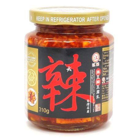 Kongki Fermented Bean Curd with Spicy Soy Bean Paste 310g