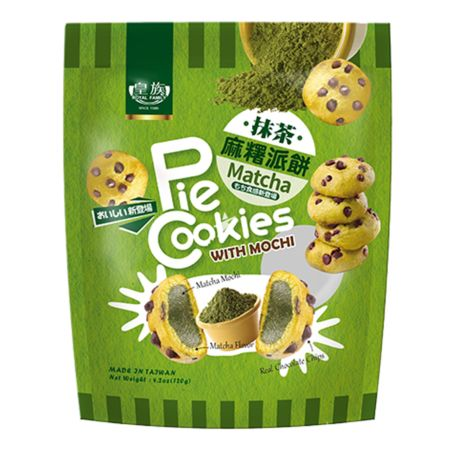 Royal Family Pie Cookies with Mochi Matcha Flavour 120g