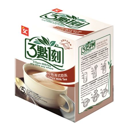 3:15PM Hong Kong Style Coffee Milk Tea 5 Bags 100g