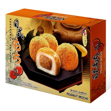 Loves Flower Mochi with Peanut 6 Pieces 210g