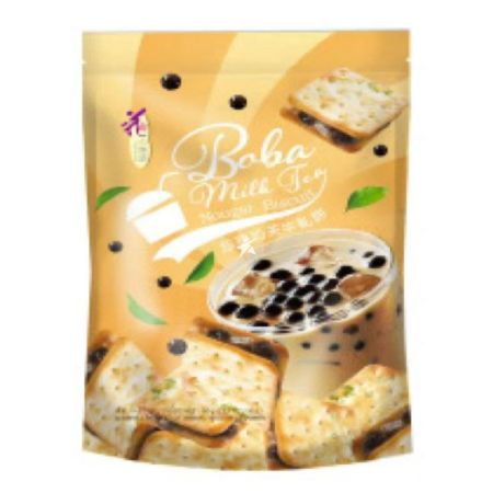 Loves Flower Nougat Biscuit Pearl Milk Tea Flavour 72g