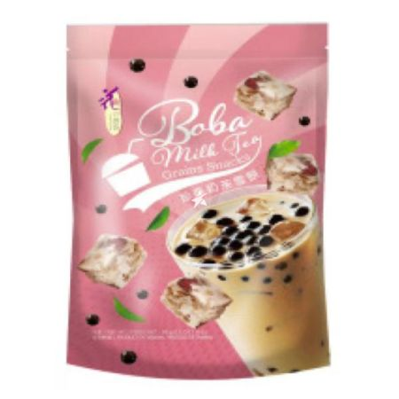 Loves Flower Snowflake Cake (Grain Snack) Pearl Milk Tea Flavour 72g