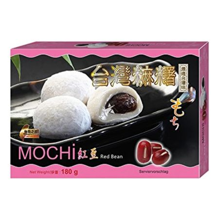 Sunwave Japanese Style Mochi Red Bean Flavour 6 Pieces 180g