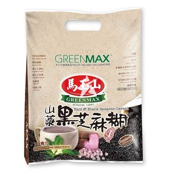 Greenmax Yam and Black Sesame Cereal 35g x 13 bags