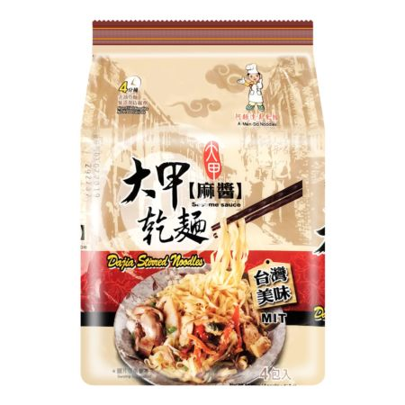 Dajia 大甲干面 麻酱 110g (Pack of 4)