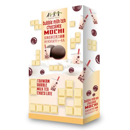 Bamboo House Bubble Milk Tea Chocolate Mochi 120g