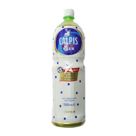 Calpis Non-carbonated Soft Drink Concentrate 1.5l