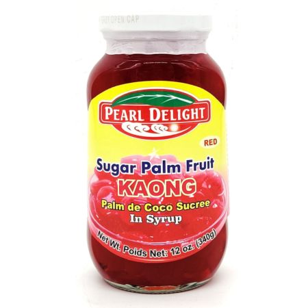 Pearl Delight Red Sugar Palm Fruit (Kaong) in Syrup 340g