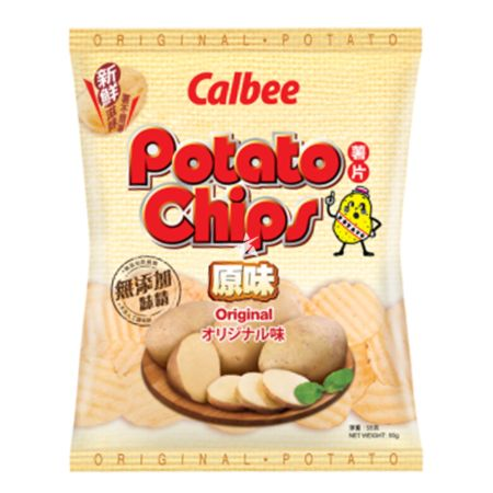 [Old Barcode] Calbee Potato Chips - Original Flavour 55g (Limited Edition)