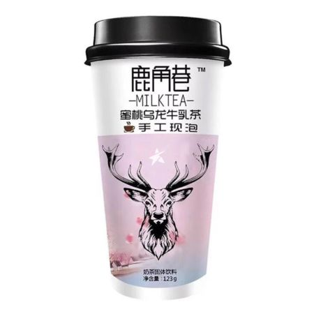 Lujiaoxiang Peach Oolong Milk Tea 123g
