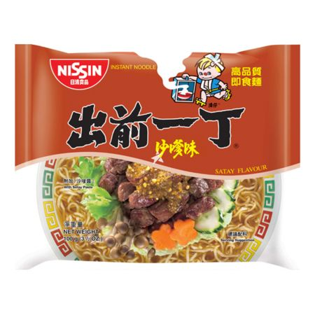 Nissin Demae Iccho Classic Series Satay Flavour 100g