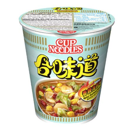 Nissin Cup Noodles (HK) - Spicy Seafood Flavour 75g