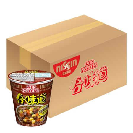 Nissin Cup Noodles - Beef Flavour 72g*24 Cups