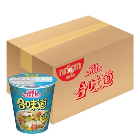Nissin Cup Noodles - Seafood Flavour 75g*24 Cups