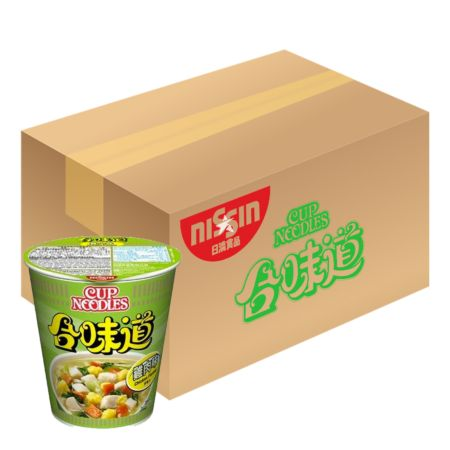Nissin Cup Noodles - Chicken Flavour 74g*24 Cups