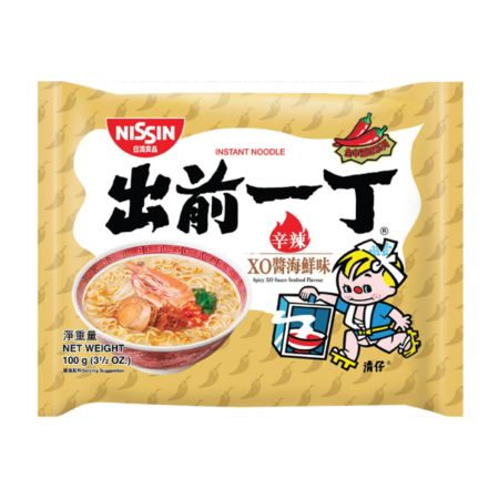 Nissin Demae Ramen Spicy XO Sauce Seafood Flavour Instant Noodle 100g