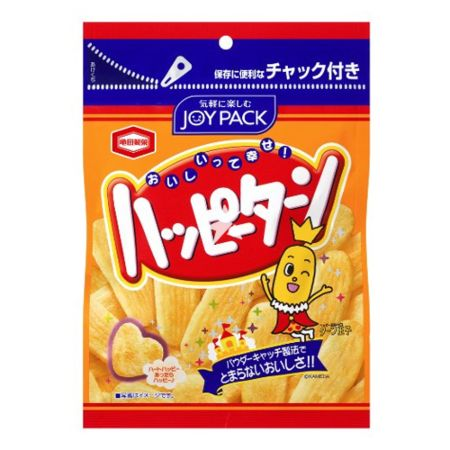 Kamedaseika Happy Turn Rice Crackers 67g