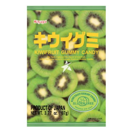 Kasugai Pure Kiwi Fruit Gummy Candy 107g