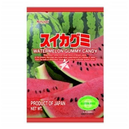 Kasugai Watermelon Gummy Candy 107g