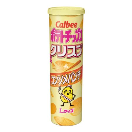 Calbee Potato Chips Consomme Punch Flavour 115g