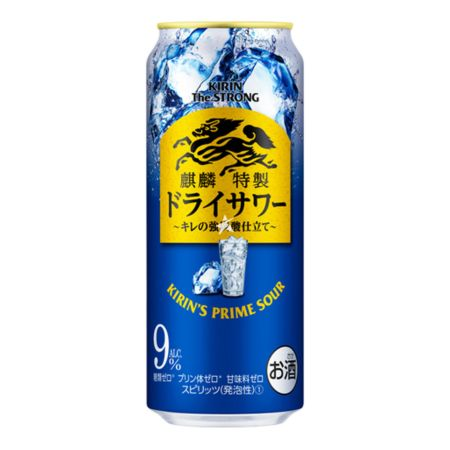 Kirin The Strong Prime Sour Sparkling Dry Strong Carbonated Flavour 500ml 9% Alc. / Vol