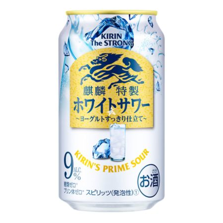 Kirin The Strong Prime Sour - Sparkling Yogurt 350ml 9% Acl./Vol
